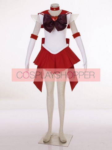 Sailor Moon SuperS Sailor Mars Raye Hino Cosplay Costume
