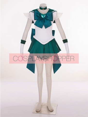Sailor Moon SuperS Sailor Neptune Kaiou Michiru Cosplay Costume