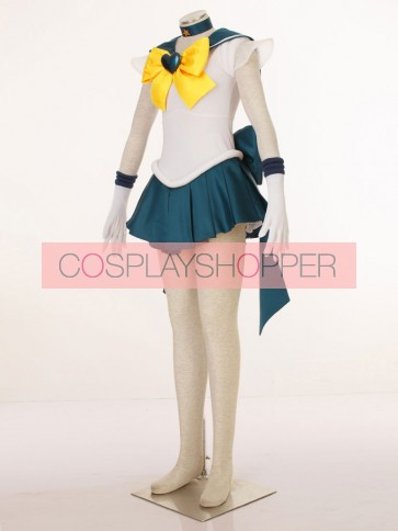 Sailor Moon SuperS Sailor Uranus Tenoh Haruka Cosplay Costume