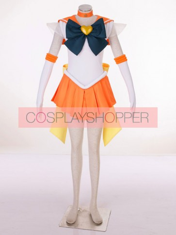 Sailor Moon SuperS Sailor Venus Minako Aino Cosplay Costume