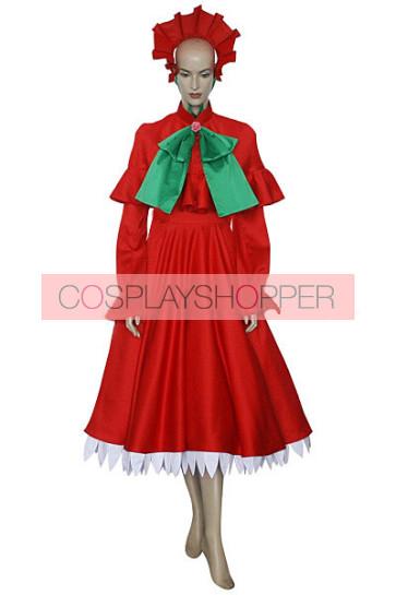 Rozen Maiden Shinku Cosplay Costume