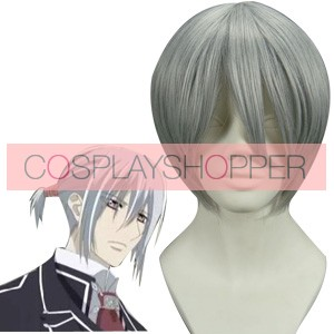 Silver 32cm Vampire Knight Kiryuu Ichiru Cosplay Wig