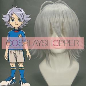 Silver 35cm Inazuma Eleven Fubuki Shirou Nylon Cosplay Wig
