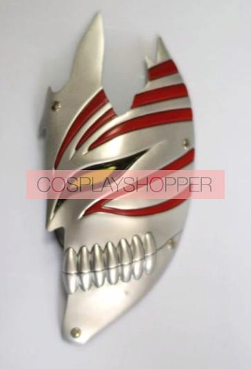 Silver Bleach Kurosaki Ichigo PVC Cosplay Half Mask