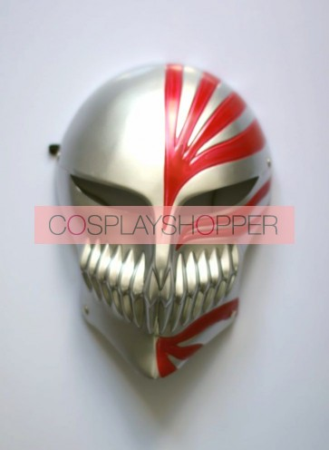Silver Bleach Kurosaki Ichigo PVC Cosplay Hollow Mask