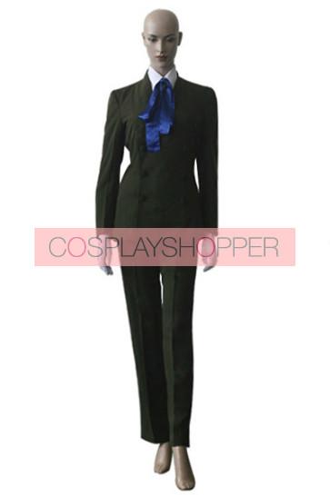 Hellsing Sir Integra Cosplay Costume