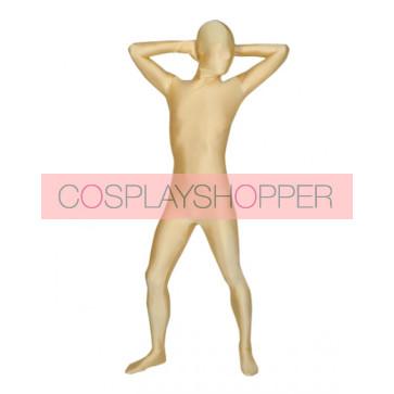 Skin Color Full-Body Lycra Spandex Unisex Zentai Suit