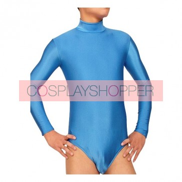 Sky Blue Lycra Spandex Zentai Suit