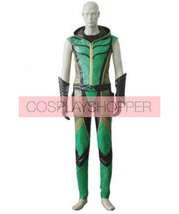 Smallville Green Arrow Cosplay Costume