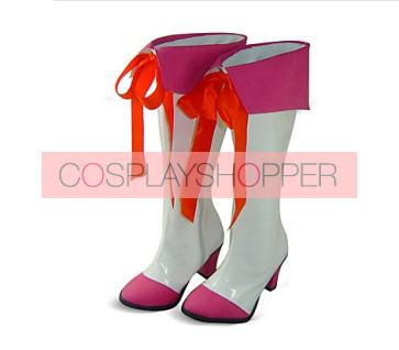 Smile PreCure! Miyuki Hoshizora Cure Happy Cosplay Boots
