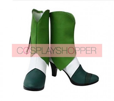 Smile PreCure! Nao Midorikawa Cure March Cosplay Boots