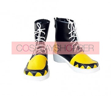 Soul Eater Evans Imitation Leather Cosplay Boots