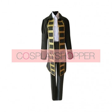 Axis Powers Hetalia Spain Cosplay Costume (Black)