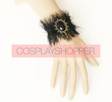 Special Black Fashion Girls Lolita Wrist Strap