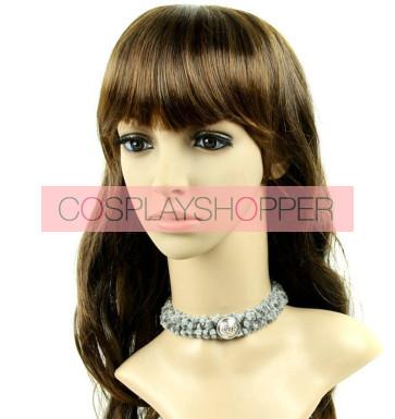 Special Grey Woolen Lolita Necklace