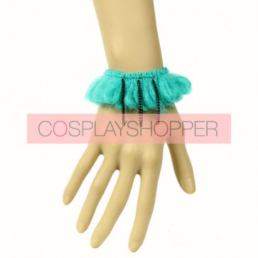 Sweet Green Chain Little Girls Lolita Wrist Strap
