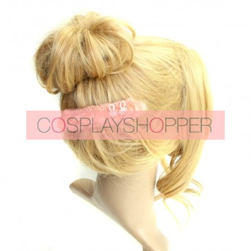 Sweet Pink Lace Girls Lolita Hairpin