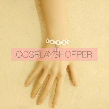 Sweet White Angel Girls Lolita Wrist Strap