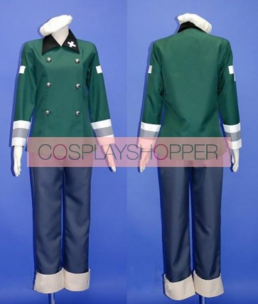 Axis Powers Hetalia Switzerland Vash Cosplay Costume