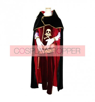 The Galaxy Express 999 Emeraldas Cosplay Costume