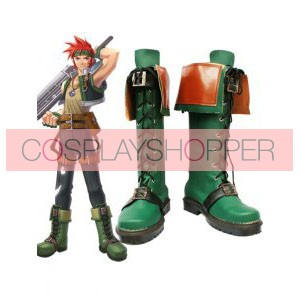 The Legend of Heroes Sora no Kiseki Agate Crosner Cosplay Boots