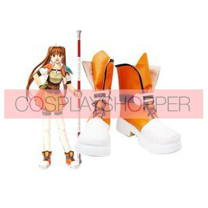 The Legend of Heroes Sora No Kiseki Estelle Bright Imitated Leather Cosplay Boots