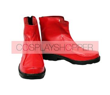 Touhou Project Fujiwara no Mokou Cosplay Boots