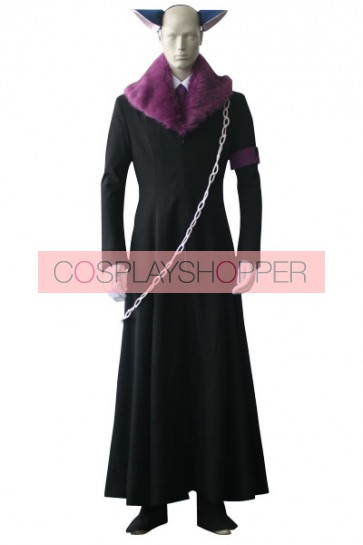 Shugo Chara Tsukiyomi Ikuto Death Rebel Cosplay Costume