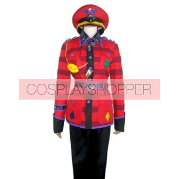 Alice in the Country of Hearts Tweedle Dum Cosplay Costume
