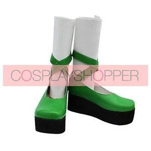 Umineko No Naku Koro Ni Furfur Green Cosplay Shoes