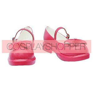 Umineko No Naku Koro Ni Lambdadelta Pink Cosplay Shoes