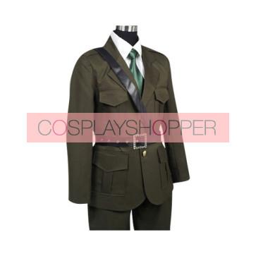 Axis Powers Hetalia United Kingdom Arthur Kirkland Cosplay Costume