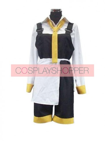 Vocaloid Da Capo Yellow And White Cosplay Costume