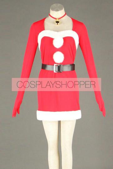 Vocaloid Hatsune Miku Christmas Cosplay Costume