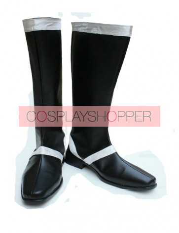 Vocaloid Kaito Imitation Leather Cosplay Boots