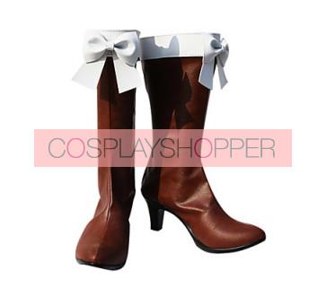Vocaloid Meiko Sakine Cosplay Boots