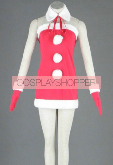 Vocaloid Miki Christmas Cosplay Costume