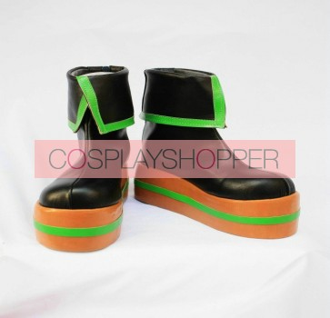 Vocaloid Miku Imitation Leather Cosplay Boots