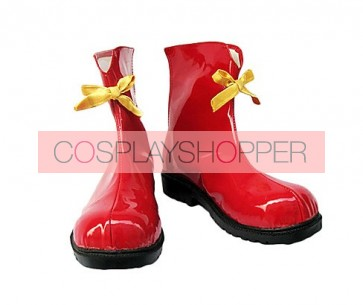 Vocaloid Red Cosplay Boots
