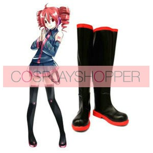 Vocaloid Teto Imitation Leather Cosplay Boots