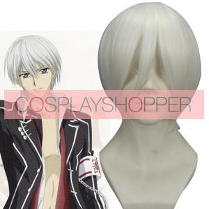 White 32cm Vampire Knight Kiryuu Zero Cosplay Wig