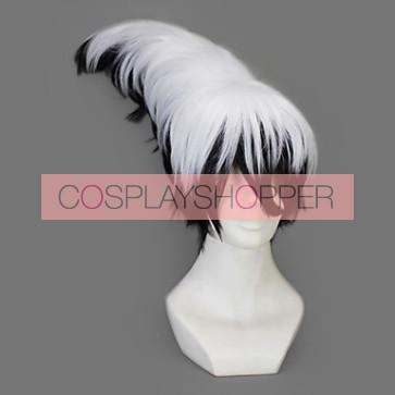 White And Black 45cm Nura: Rise of the Yokai Clan Rikuo Nura Cosplay Wig