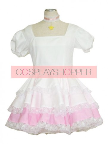 CardCaptor Sakura White Sakura Kinomoto Cosplay Dress