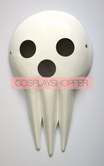 White Soul Eater Death PVC Cosplay Mask