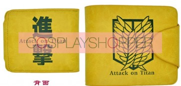 Yellow Attack On Titan Recon Corps Cosplay Purse