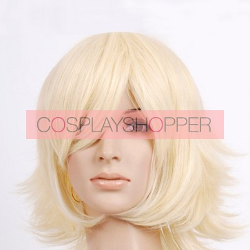 Yellow Blonde Cosplay Wig