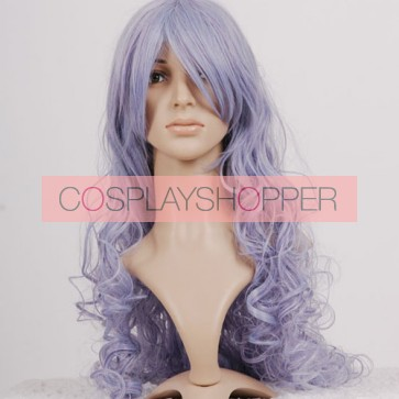 Light Purple Macross Frontier Sheryl Nome Cosplay Wig