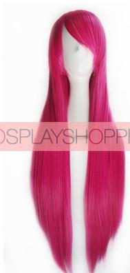 Pink Rosario + Vampire Moka Akashiya Cosplay Wig