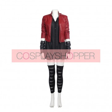 The Avengers: Age of Ultron Wanda Maximoff Scarlet Witch Cosplay Costume