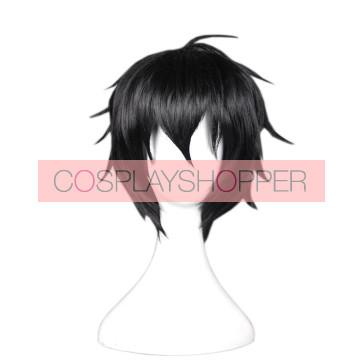 Black 35cm Seraph of the End Cosplay Yuichiro Hyakuya Cosplay Wig